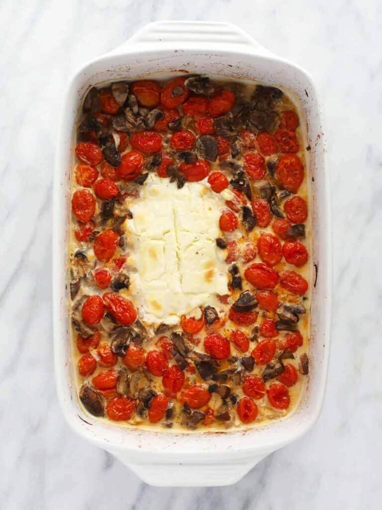 baked cream cheese pasta