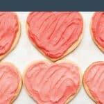 cream cheese heart cookies