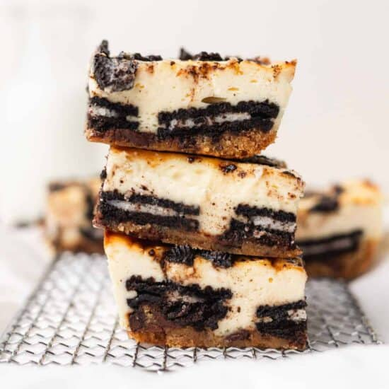 Slutty Cheesecake Bars