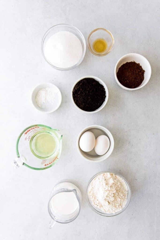ingredients on countertop