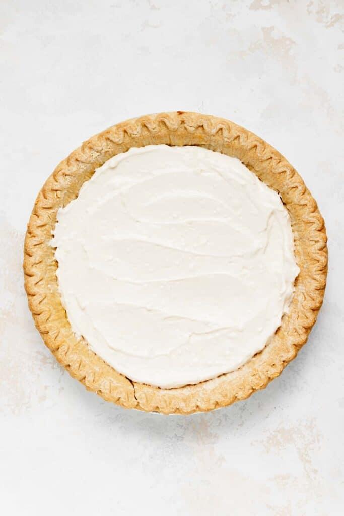 Blueberry cream cheese pie.