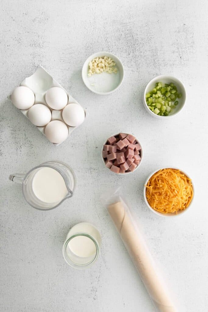 ingredients on counter
