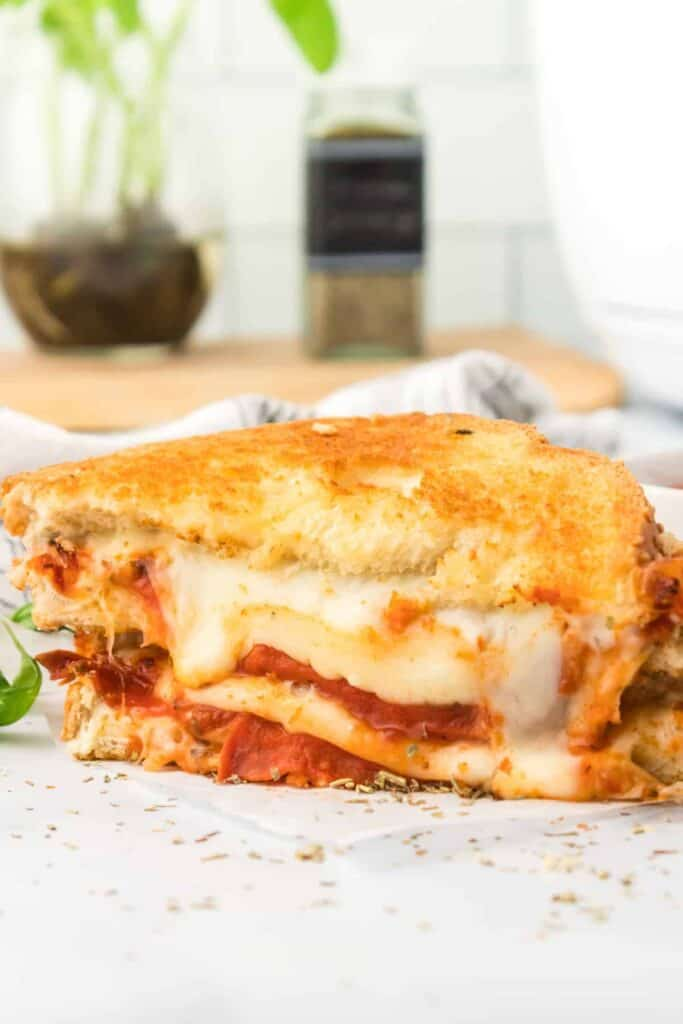 grilled cheese stacked