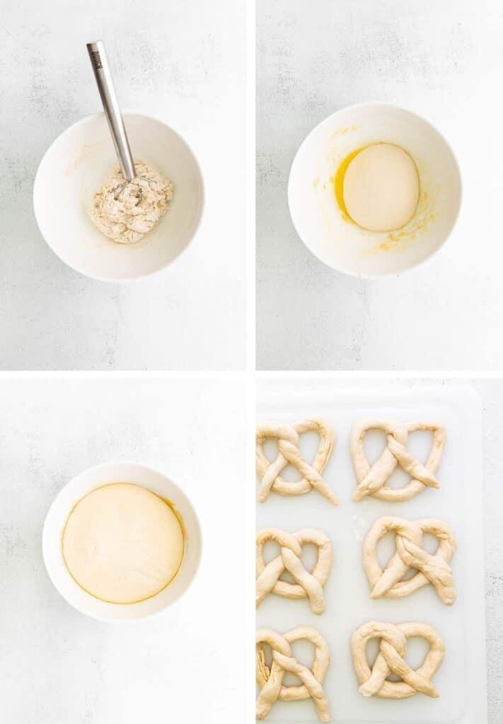 step by step pretzel tutorial
